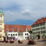 The Romantic City Of Bratislava In Slovakia